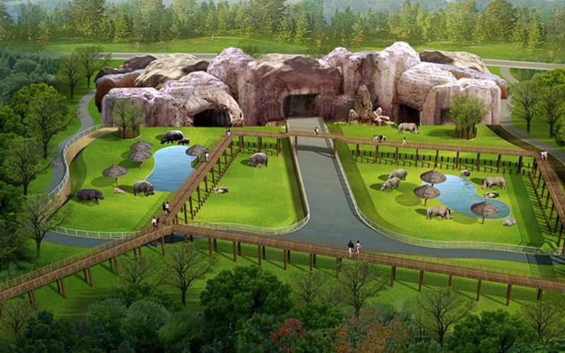 动物园安保设防